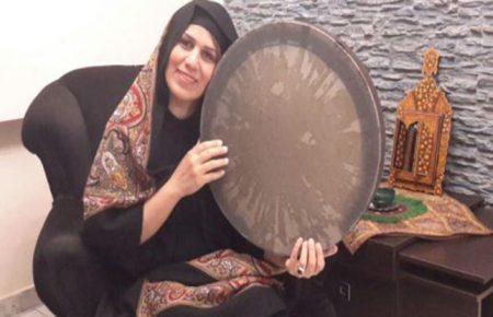 استاد نسرين امير احمدى(دف و آواز سنتى)